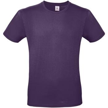 Textil Homem T-Shirt mangas curtas B And C TU01T Púrpura Urbana