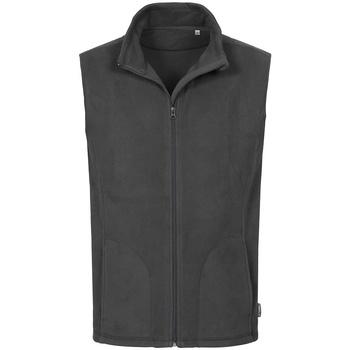 Textil Homem Casacos de malha Stedman  Aço cinzento