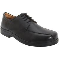 Sapatos Homem Sapatos Roamers Tramline Preto