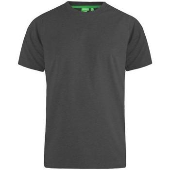 Textil Homem T-Shirt mangas curtas Duke Flyers-2 Melange Carvão Vegetal