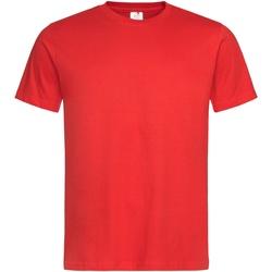 Textil Homem T-Shirt mangas curtas Stedman Stars  Vermelho Escarlate