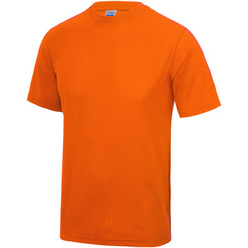 Textil Criança T-Shirt mangas curtas Awdis JC01J Laranja elétrica