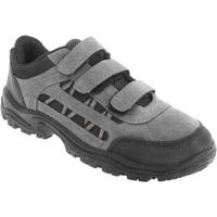 Sapatos Homem Sapatos de caminhada Dek Ascend Cinza/Preto