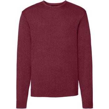 Textil Homem camisolas Russell J717M Cranberry Marl