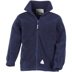 Textil Criança Casaco polar Result R36JY Azul-marinho