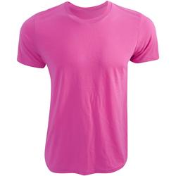 Textil T-Shirt mangas curtas Bella + Canvas CA3650 Neon Pink