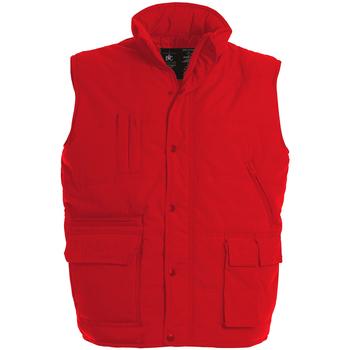 Textil Homem Casacos de malha B And C Explorer Vermelho