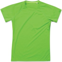 Textil Mulher T-Shirt mangas curtas Stedman  Kiwi Green