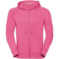 Textil Homem Sweats Russell J284M Pink Marl