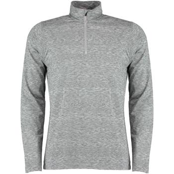 Textil Homem Camisas mangas comprida Rhino RH006 Cinza Heather