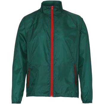 Textil Homem Corta vento 2786  Garrafa/ Vermelho