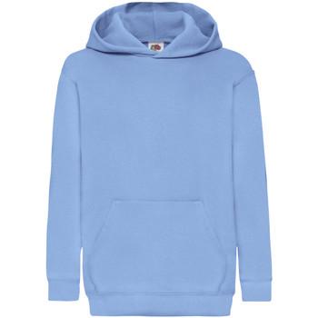 Textil Criança Sweats Fruit Of The Loom 62043 Azul Céu