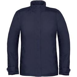 Textil Mulher Corta vento B And C Real+ Azul-marinho