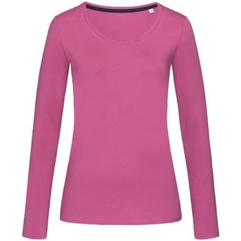 Textil Mulher T-shirt mangas compridas Stedman Stars  Cupcake Pink