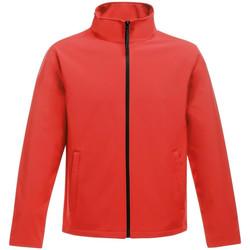 Textil Homem Casaco polar Regatta RG627 Clássico vermelho/preto