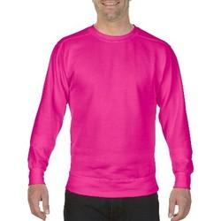 Textil Homem Sweats Comfort Colors CO040 Neon Pink