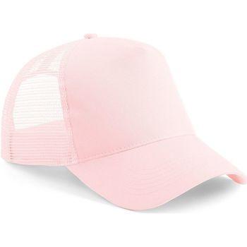 Acessórios Boné Beechfield Trucker Pastel Pink/ Pastel Pink