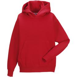 Textil Criança Sweats Jerzees Schoolgear 575B Vermelho clássico