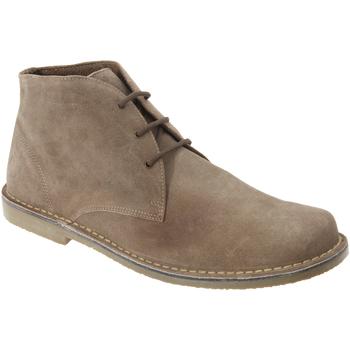 Sapatos Homem Botas baixas Roamers  Areia