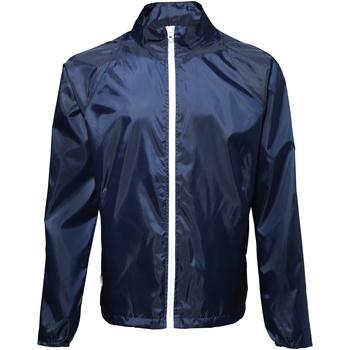 Textil Homem Corta vento 2786 TS011 Marinha/ Branco