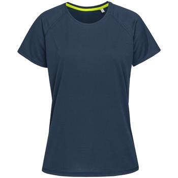 Textil Mulher T-Shirt mangas curtas Stedman  Rei Azul