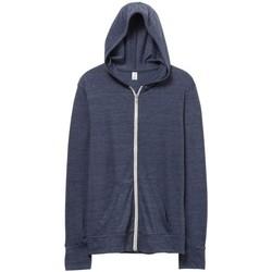 Textil Homem Sweats Alternative Apparel AT002 Marinha Eco True