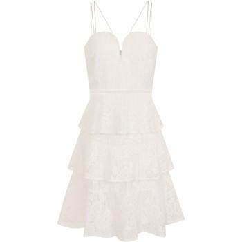 Textil Mulher Vestidos curtos Girls On Film  Branco