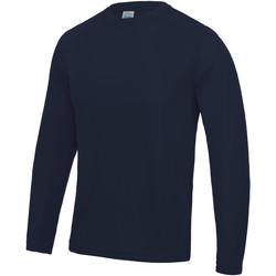 Textil Homem T-shirt mangas compridas Awdis JC002 marinha francesa