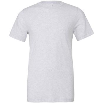 Textil Homem T-Shirt mangas curtas Bella + Canvas CA3413 White Fleck Triblend
