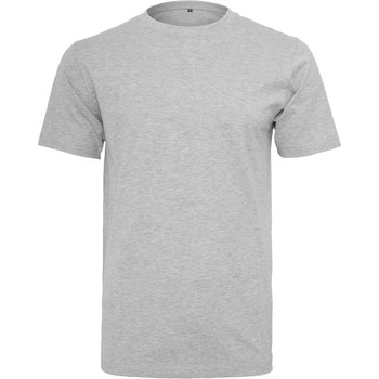 Textil Homem T-Shirt mangas curtas Build Your Brand BY004 Heather Grey