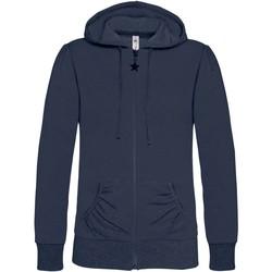 Textil Mulher Sweats B And C WW641 Azul-marinho