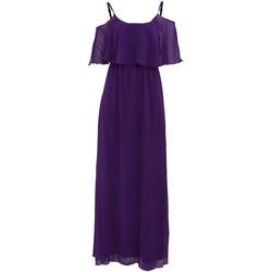 Textil Mulher Vestidos compridos Girls On Film  Púrpura