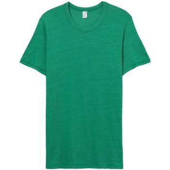Textil Homem T-Shirt mangas curtas Alternative Apparel AT001 Eco Verdadeiro Verde