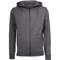 Textil Homem Sweats Build Your Brand BY012 Carvão vegetal