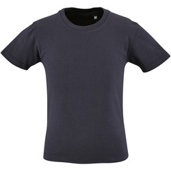 Textil Criança T-Shirt mangas curtas Sols 2078 marinha francesa