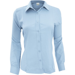Textil Mulher camisas Henbury Wicking Azul claro