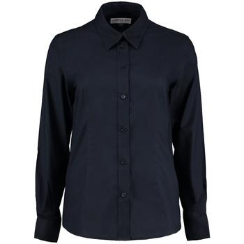 Textil Mulher camisas Kustom Kit KK361 marinha francesa