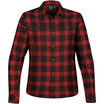 Textil Mulher camisas Stormtech SFX-1W Jet Black/Red Plaid