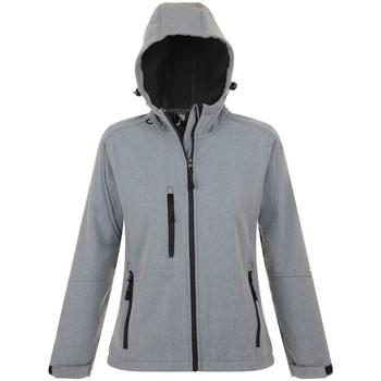 Textil Mulher Corta vento Sols 46802 Grey Marl