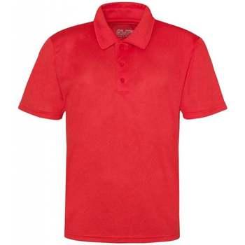 Textil Homem Polos mangas curta Awdis JC040 Vermelho Fogo