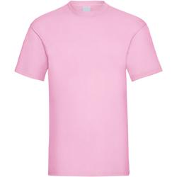 Textil Homem T-Shirt mangas curtas Universal Textiles 61036 Pastel Pink