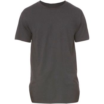 Textil Homem T-Shirt mangas curtas Bella + Canvas Long Body Cinza Escura Heather