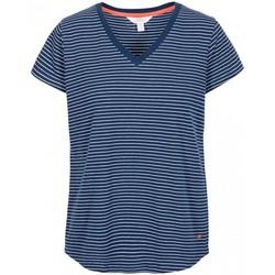 Textil Mulher T-Shirt mangas curtas Trespass Konnie Listra da Marinha