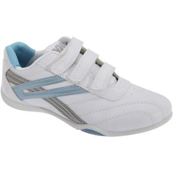 Sapatos Mulher Sapatilhas Dek Raven Branco/azul claro