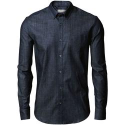 Textil Homem Camisas mangas comprida Nimbus Torrance Azul Índigo