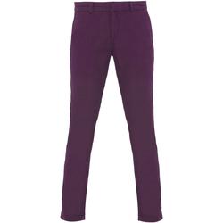 Textil Mulher Chinos Asquith & Fox Chino Púrpura