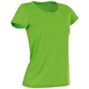 Textil Mulher T-Shirt mangas curtas Stedman Cotton Touch Kiwi Green