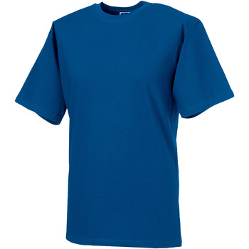 Textil Homem T-Shirt mangas curtas Russell 215M Brilhante Real