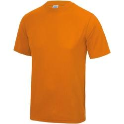 Textil Homem T-Shirt mangas curtas Awdis JC001 Trituração da laranja