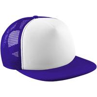 Acessórios Boné Beechfield B645 Púrpura/branco